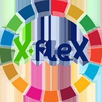 x-flex logo